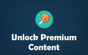 Patreon premium content